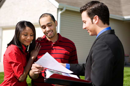 First time buyer using a real estate agent