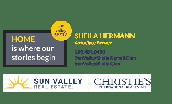Sheila Liermann, Associate Broker, Sun Valley Real Estate LLC, an exclusive associate of Christie's International Real Estate