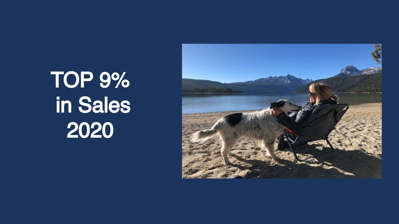 Sheila Liermann TOP 9% in Sales in the Sun Valley real estate market in 2020. Sheila is an Associate Broker with Sun Valley Real Estate LLC.