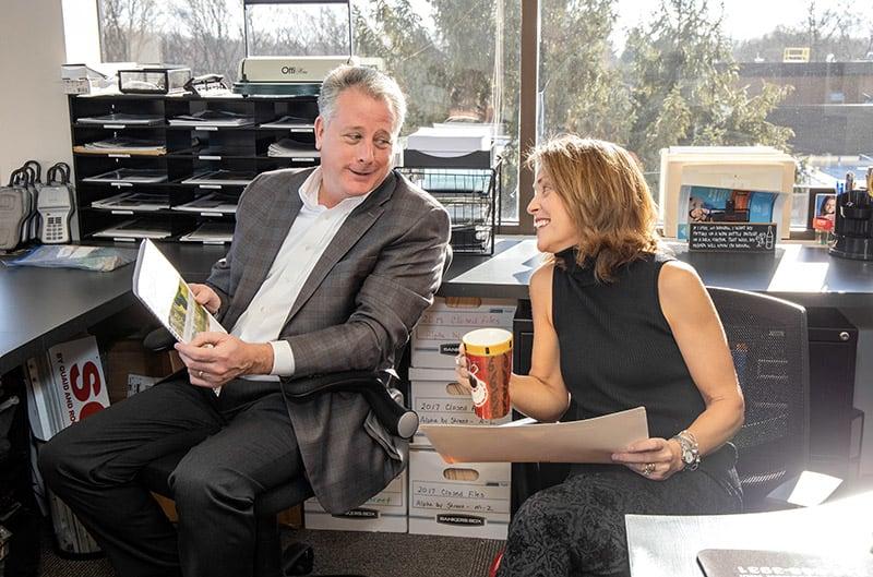 Brian and Kathy Quaid