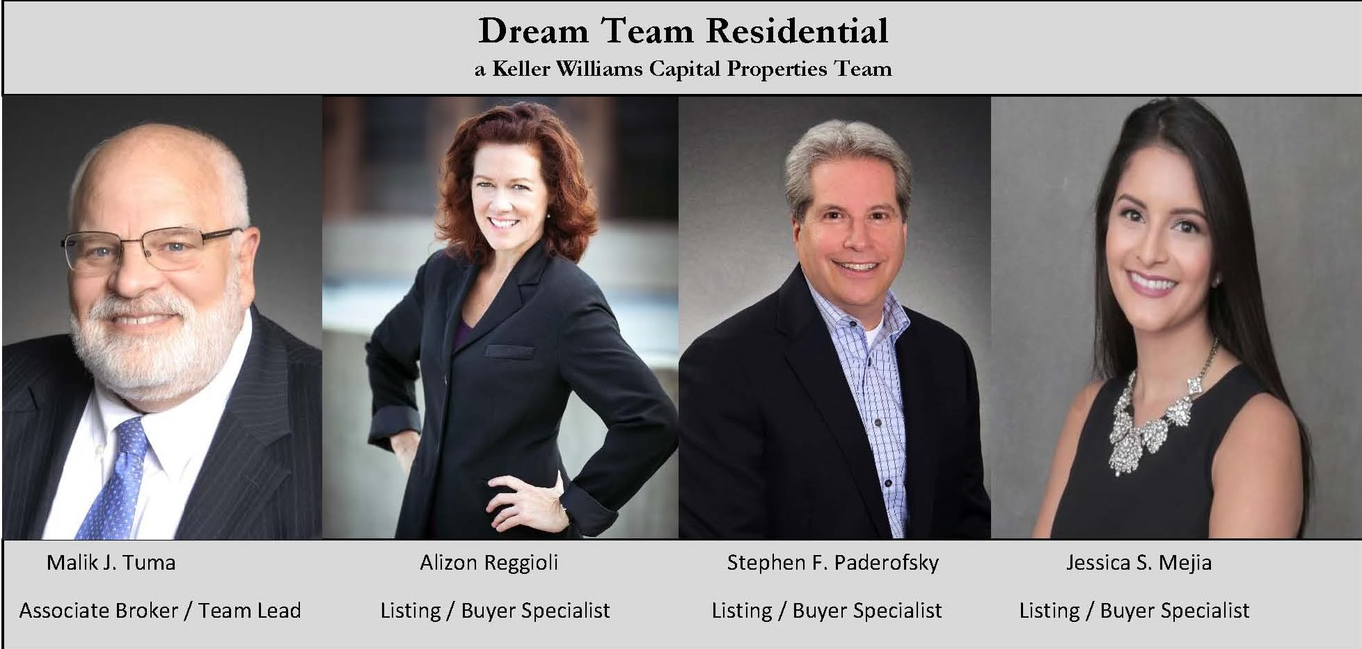 Dream Team Residential, A Keller Williams Capital Properties Team