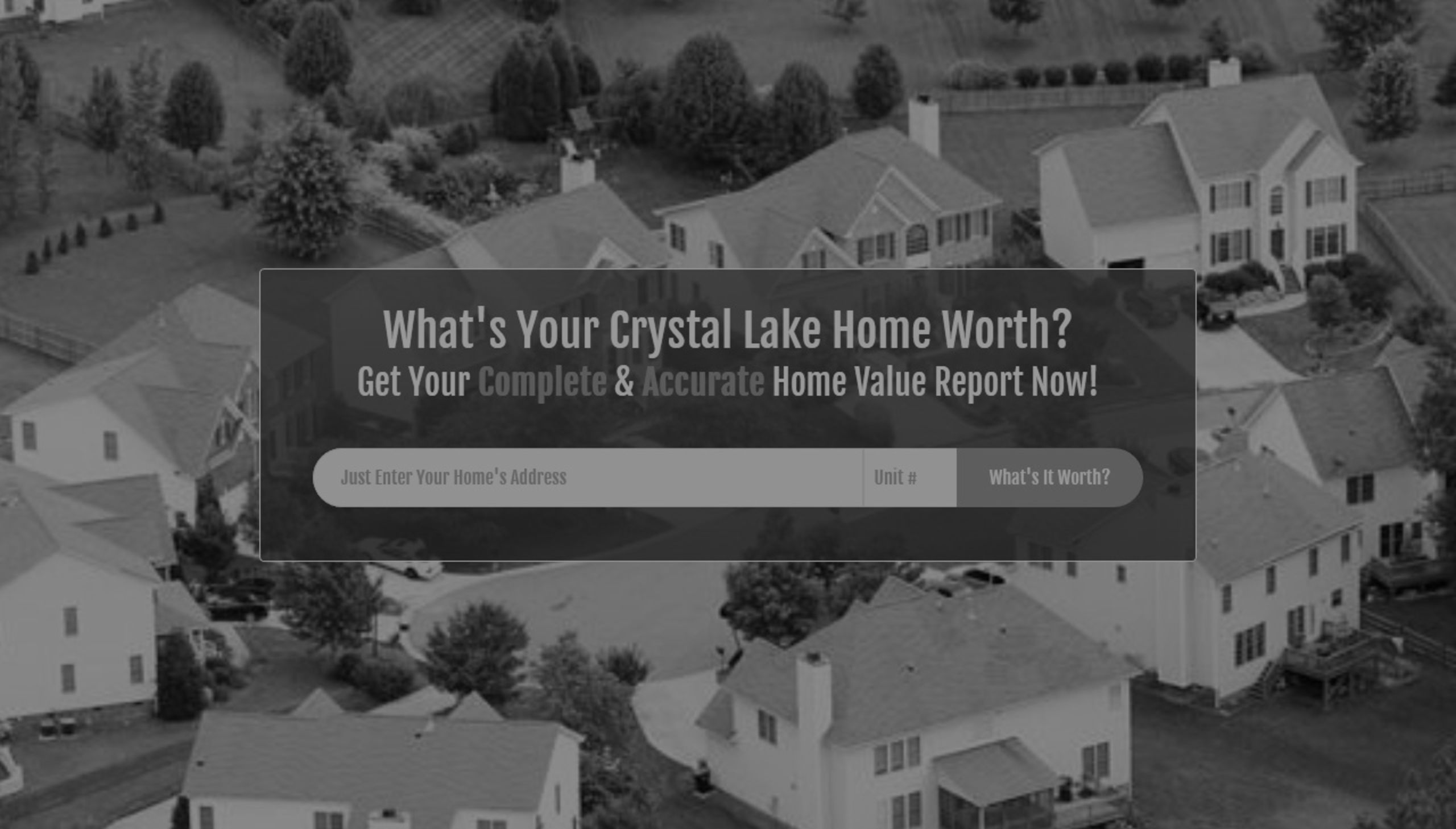 Looking For Your Home Value? We Can Help!