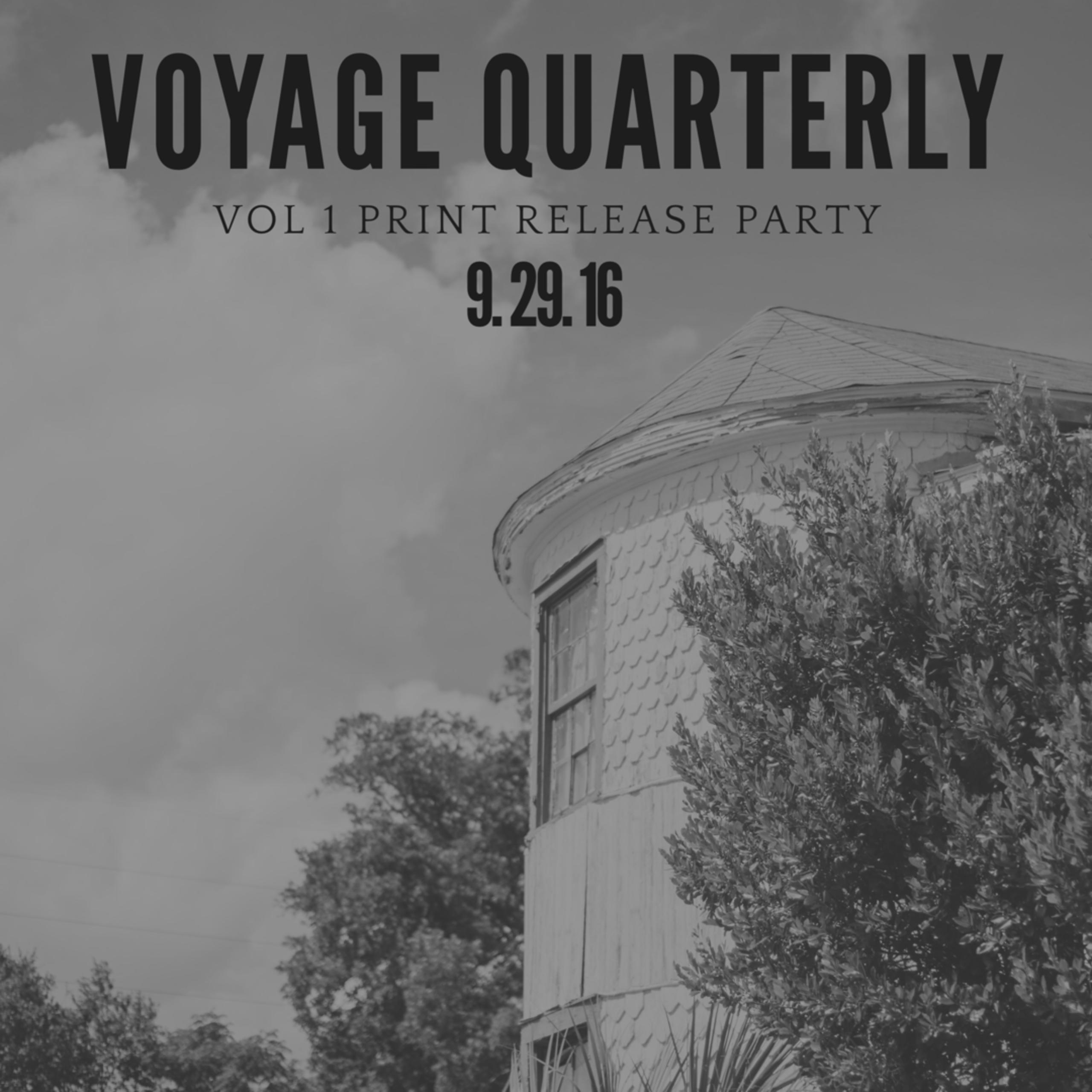 Voyage Quarterly Zine Launch Party